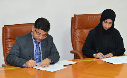 CCBA signed Memorandum of Understanding with Salalah college of technology in 2016