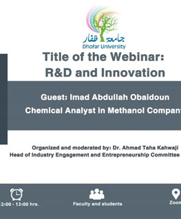 R&D and Innovation