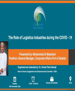 The Role of Logistics Industries during the COVID-19