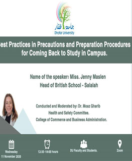 Precaution and preparation for Coming Back to Study in Campus