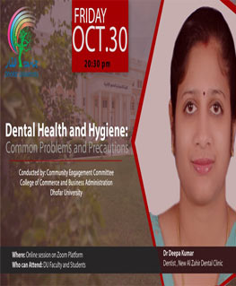 Dental Health and Hygiene